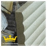 Geribbelde vermiculiet plaat
