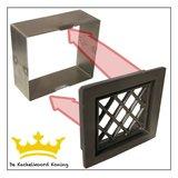Inbouwframe ventilatierooster type 3 design/a