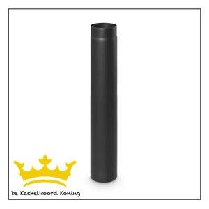 Zwarte kachelbuis, 150 mm doorsnede