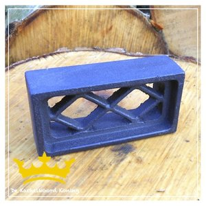 Gietijzeren inbouw luchtrooster mini /a
